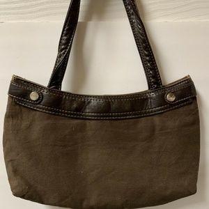 Thirty One 31 Skirt Purse Brown Handbag Purse Only